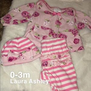 Laura Ashley outfit set with hat